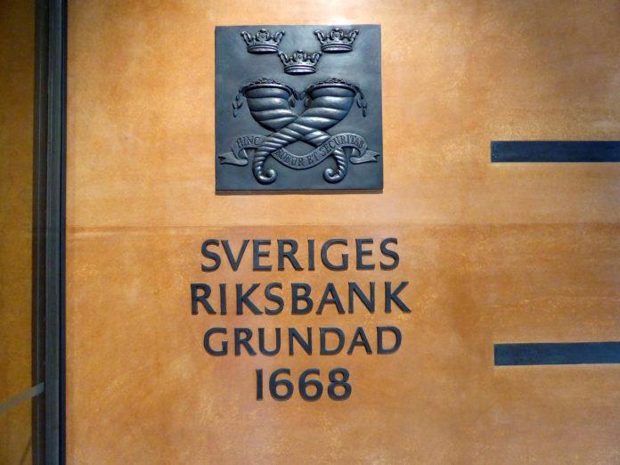 Sveriges Riksbank Grundad 1668
