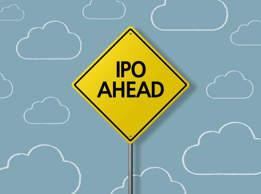 IPO Ahead Sign